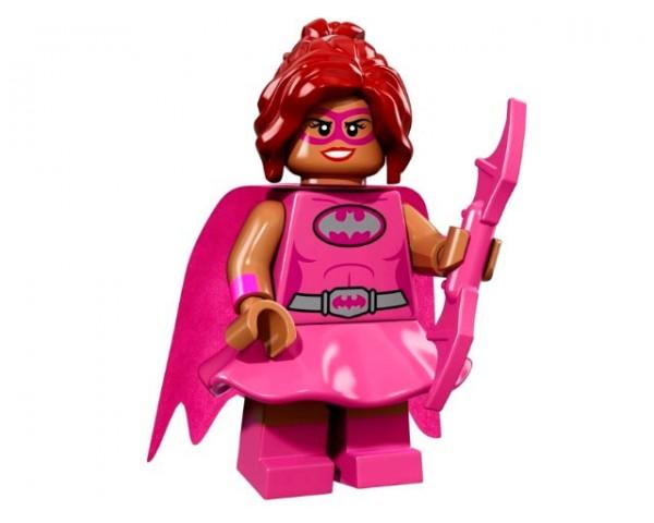 71017 Бэтгерл в розовом Lego Minifigures Batman