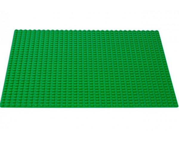 10700 Строительная пластина зеленого цвета lego classic