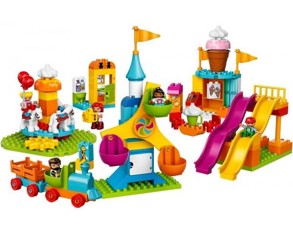 10840 Большой парк аттракционов Lego Duplo