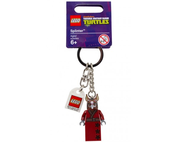 """Брелок LEGO TMNT """"Сплинтер"""", 850838 лего черепашки ниндзя"""