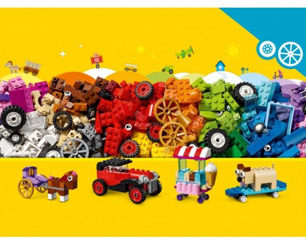 10715 Модели на колёсах Lego Classic