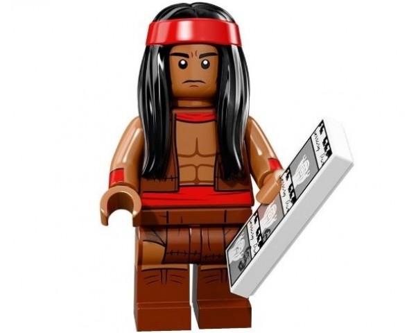 71020 Вождь апачей Lego Minifigures Batman Movie 2 серия