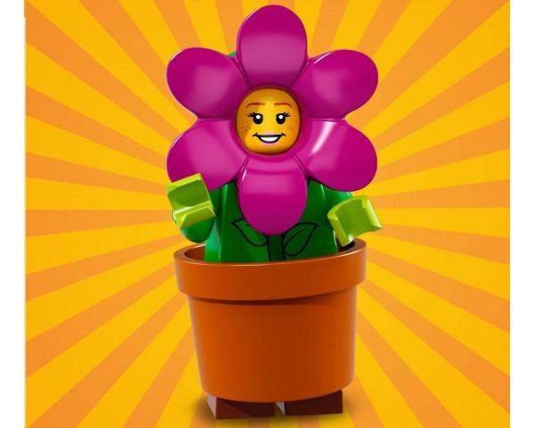 71021 Девочка в цветочном горшке Lego Minifigures Юбилейная Серия