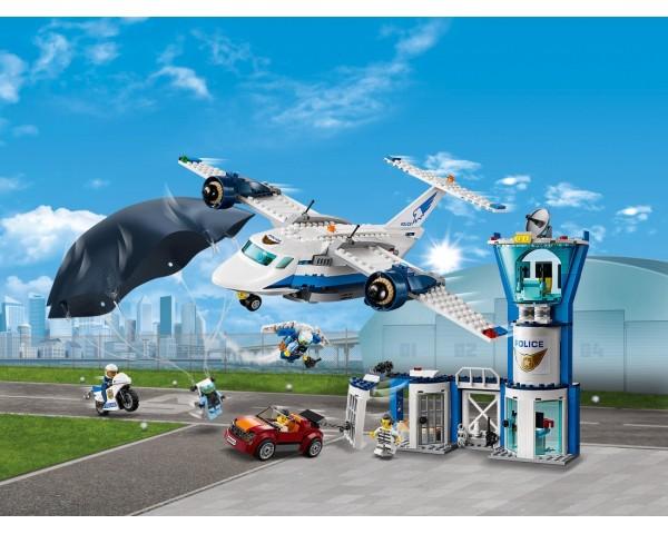 Конструктор LEGO City 60210 Воздушная полиция: авиабаза
