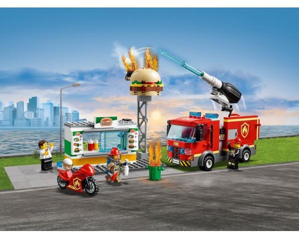 60214 Пожар в бургер-кафе Lego City