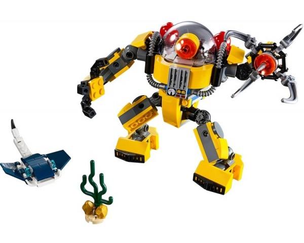 Конструктор LEGO Creator 31090 Робот для подводных исследований