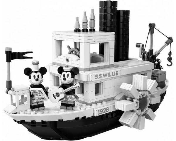 21317 Пароходик Вилли Lego Ideas