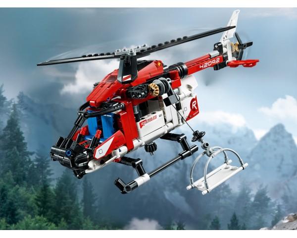 Lego Technic 42092 Спасательный вертолёт