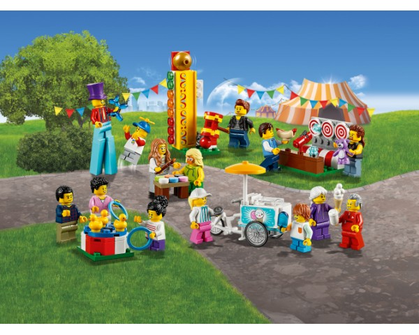 Конструктор LEGO City 60234 Ярмарочная площадь - жители