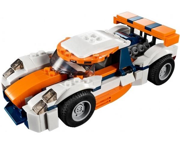 Конструктор LEGO Creator 31089 Оранжевый гоночный автомобиль