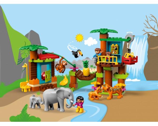 10906 Тропический остров Lego Duplo
