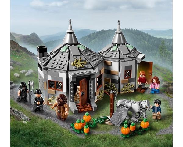 75947 Хижина Хагрида: спасение Клювокрыла Lego Harry Potter