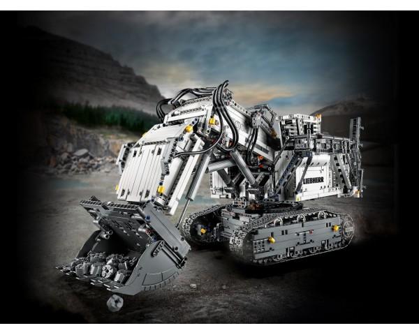 Конструктор LEGO Technic 42100 Экскаватор Liebherr R 9800
