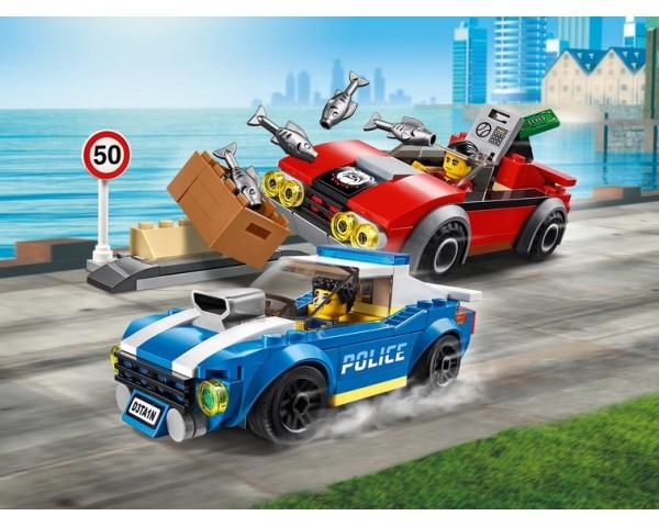 60242 Арест на шоссе Lego City