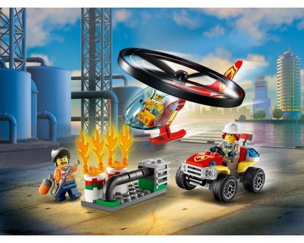 Конструктор LEGO City 60248 Пожарный спасательный вертолёт
