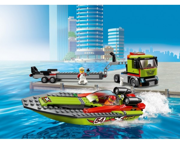 60254 Транспортировщик скоростных катеров Lego City