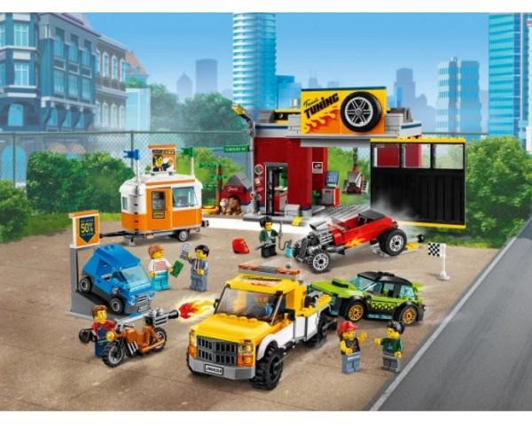 60258 Тюнинг-мастерская Lego City