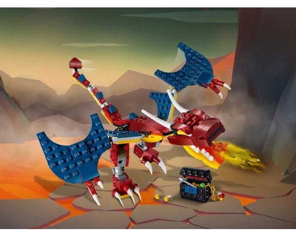 31102 Lego Creator Огненный дракон