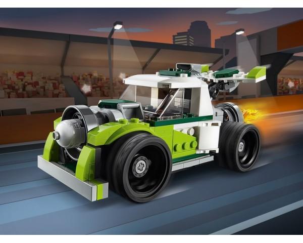 Конструктор LEGO Creator 31103 Грузовик-ракета