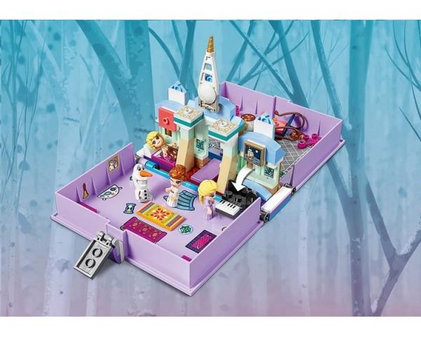 Конструктор LEGO Disney 43175 Книга сказочных приключений Анны и Эльзы