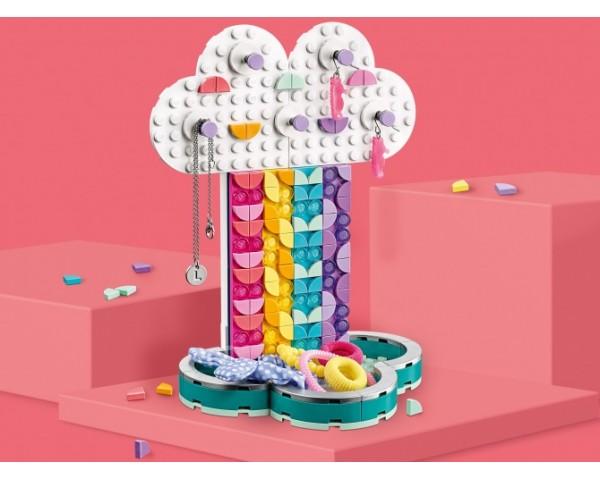 Конструктор LEGO Dots 41905 Подставка для украшений «Радуга»