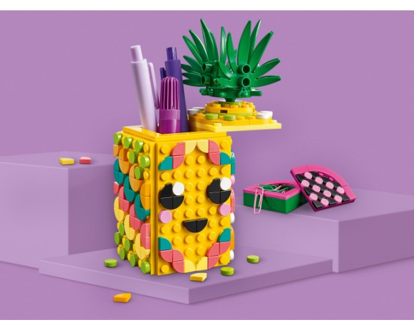 Конструктор LEGO Dots 41906 Подставка для карандашей «Ананас»
