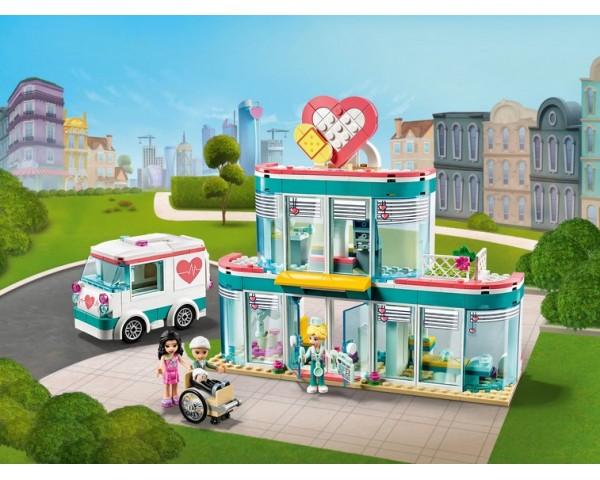 41394 Городская больница Хартлейк Сити Lego Friends