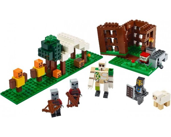 Конструктор LEGO Minecraft 21159 Аванпост разбойников
