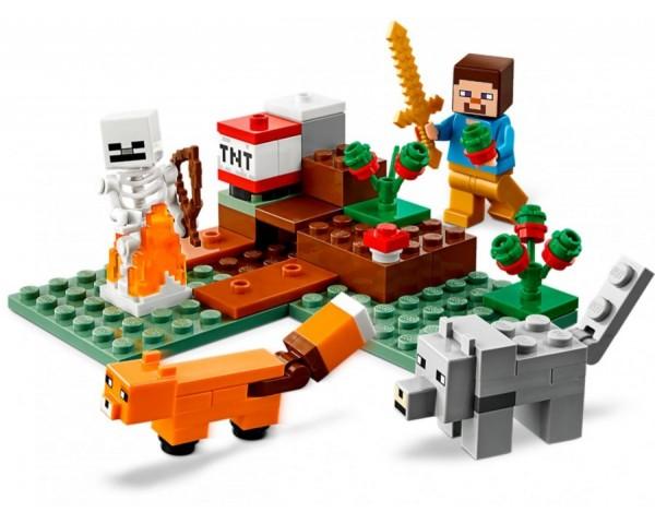 21162 Приключения в тайге Lego Minecraft