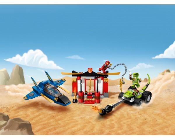 Конструктор LEGO Ninjago 71703 Бой на штормовом истребителе