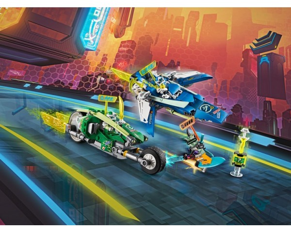 71709 Скоростные машины Джея и Ллойда Lego Ninjago