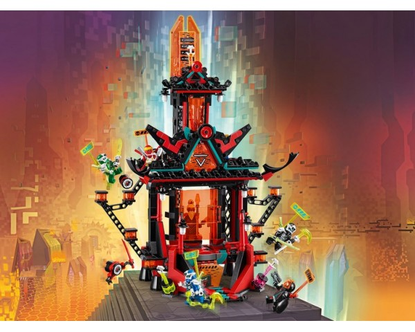 71712 Императорский храм Безумия Lego Ninjago