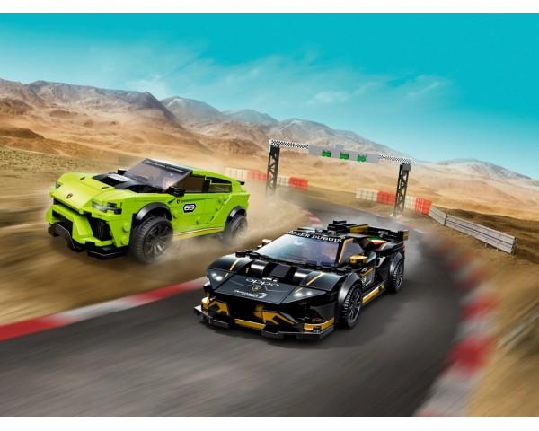 76899 Lamborghini Urus ST-X & Lamborghini Huracán Super Trofeo EVO Lego Speed Champions