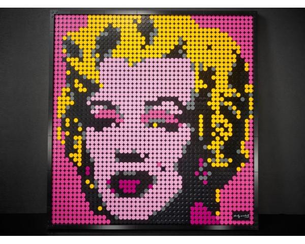 Конструктор LEGO Art 31197 Мэрилин Монро Энди Уорхола
