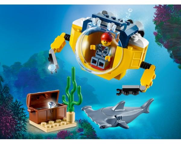 60263 Lego City Океан: мини-подлодка