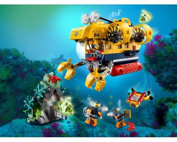 60264 Lego City Океан: исследовательская подводная лодка