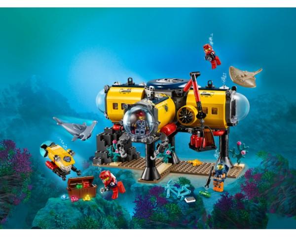 60265 Lego City Океан: исследовательская база
