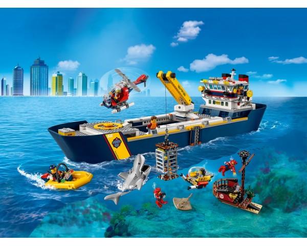 Купить 60266 Lego City Океан: исследовательское судно