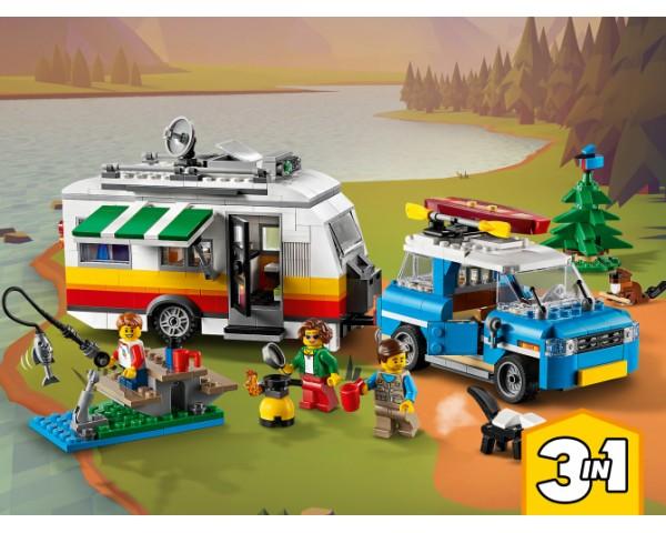 Конструктор LEGO Creator 31108 Отпуск в доме на колесах
