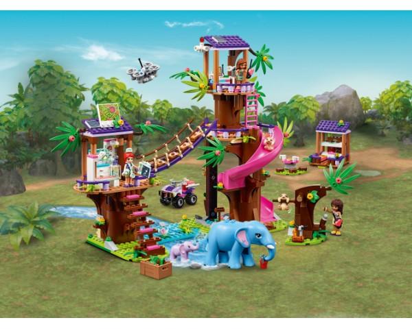 41424 Lego Friends Джунгли: штаб спасателей