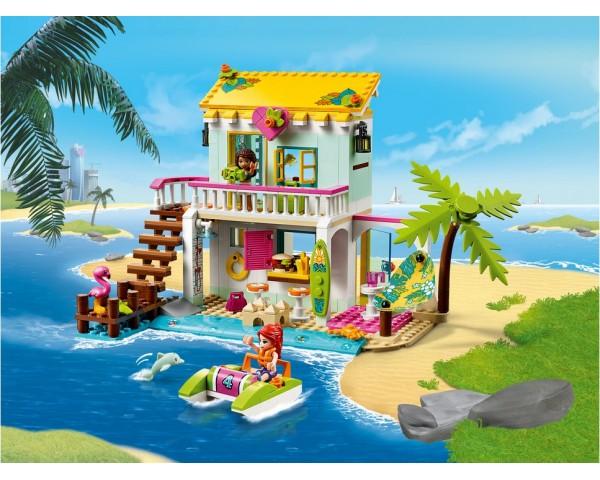 Конструктор LEGO Friends 41428 Пляжный домик