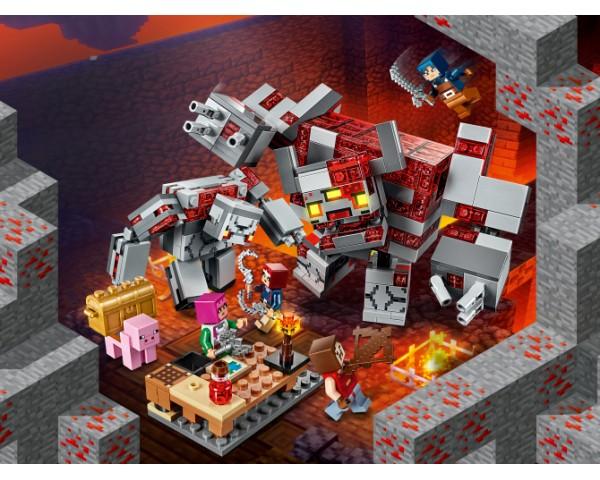 21163 Lego Minecraft Битва за красную пыль