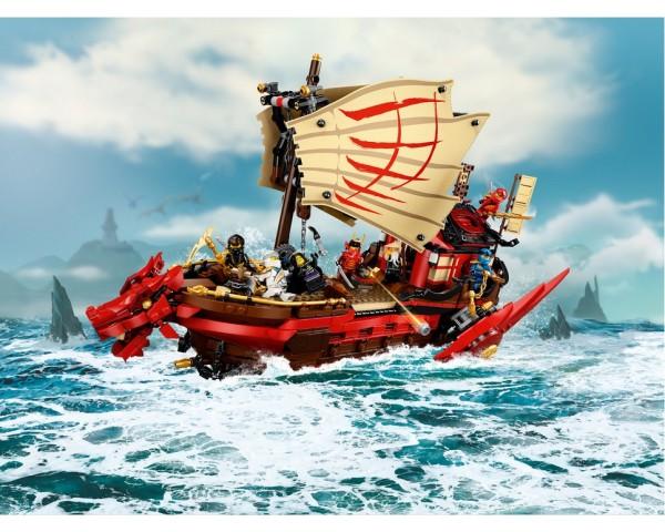 71705 Lego Ninjago Летающий корабль Мастера Ву