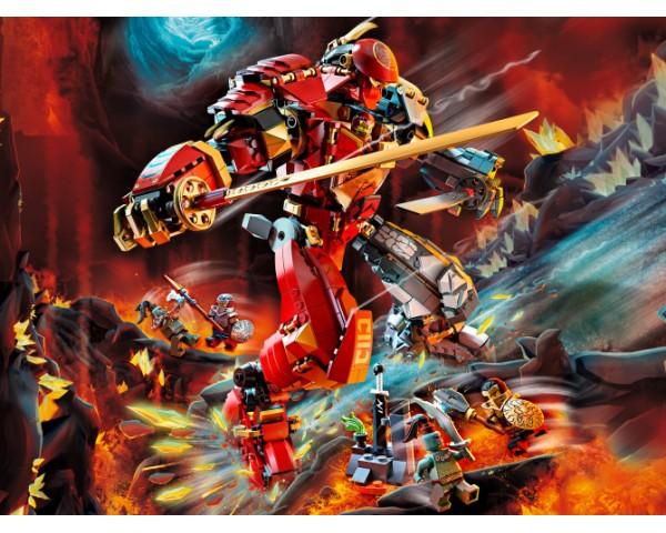 71720 Lego Ninjago Каменный робот огня