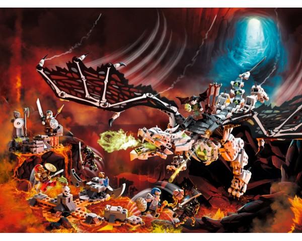 71721 Lego Ninjago Дракон чародея-скелета