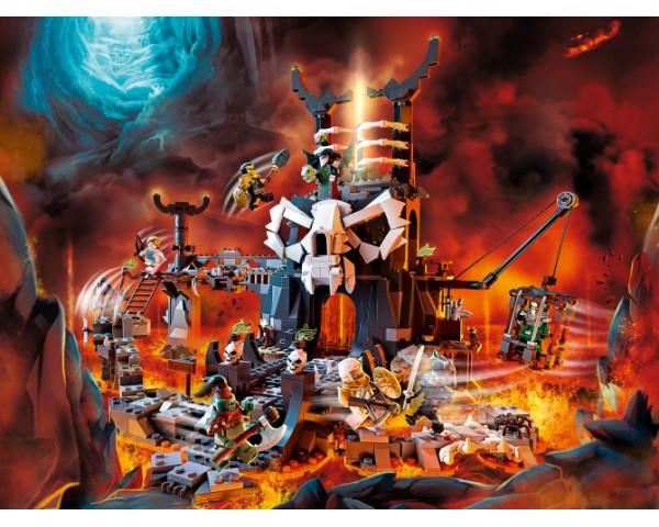 71722 Lego Ninjago Подземелье колдуна-скелета