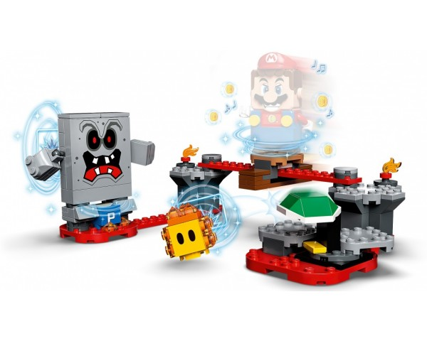 Купить 71364 Lego Super Mario Неприятности в крепости Вомпа. Дополнительный набор