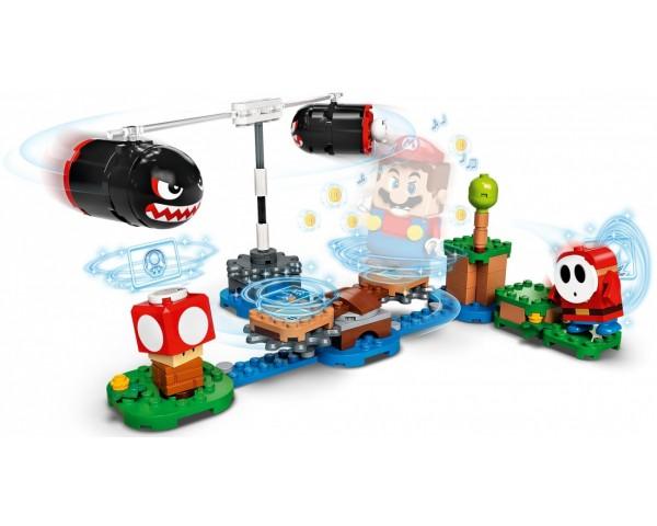71366 Lego Super Mario Огневой налёт Билла-банзай. Дополнительный набор