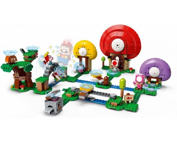 71368 Lego Super Mario Погоня за сокровищами Тоада. Дополнительный набор