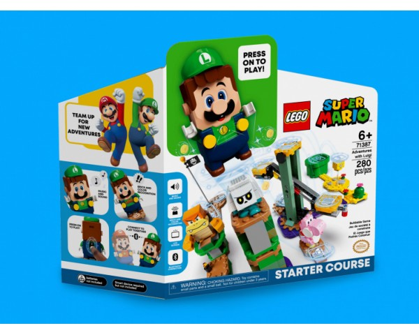 LEGO Super Mario 71387 Стартовый набор «Приключения вместе с Луиджи»